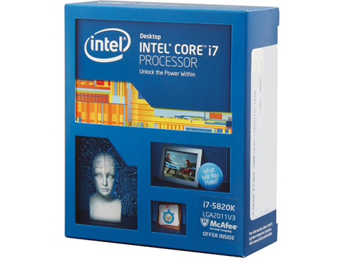 Boxed Image of a Intel 5820K