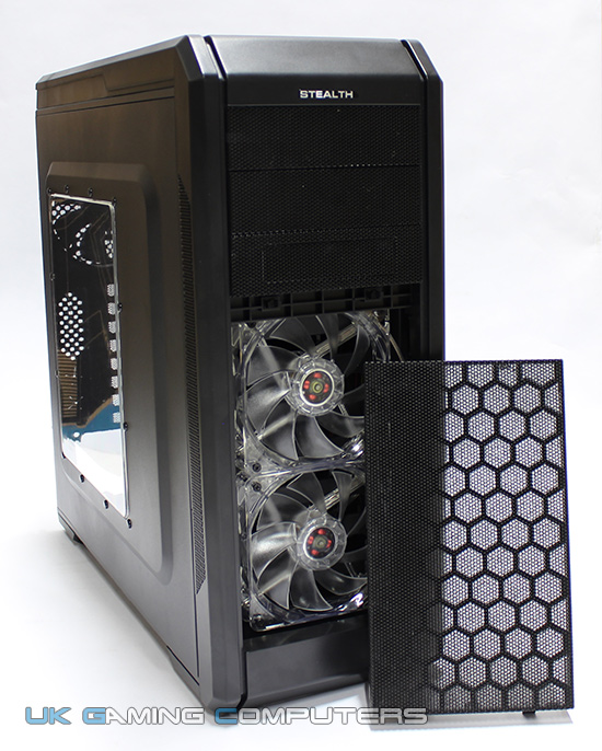 Rosewill Stealth front bay fans
