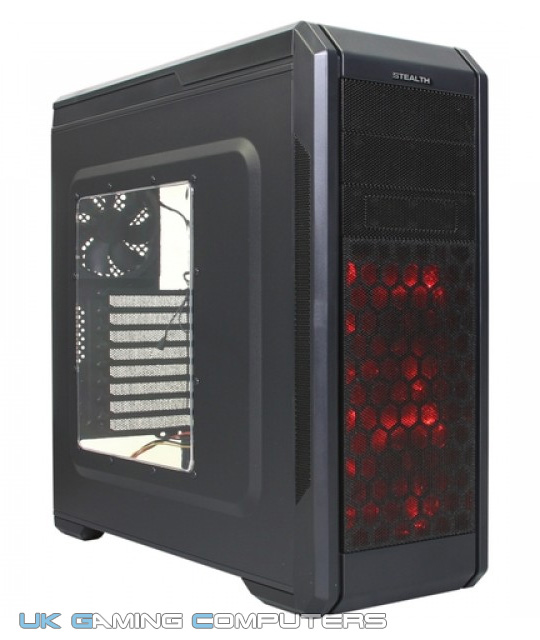 Rosewill Stealth Red LEDs