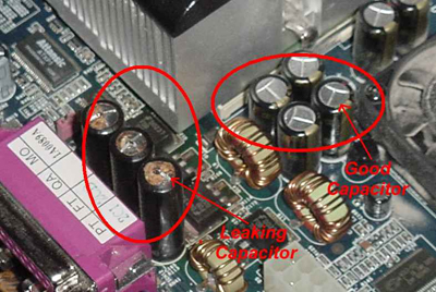 A Leaking Capacitor