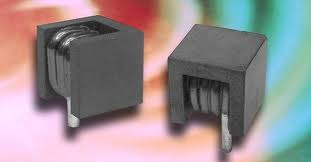 A covered electronic coil in detail