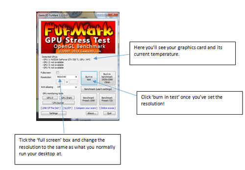 Furmark Screenshot