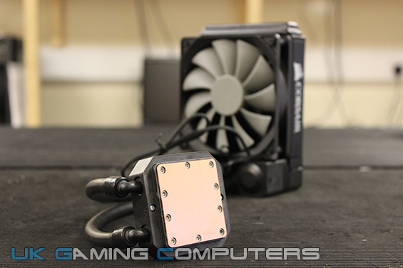 Under the Corsair H45 CPU block