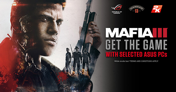 The Asus & UKGC Mafia 3 PC Promotion