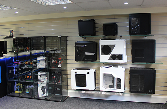 The UK Gaming Computers showroom