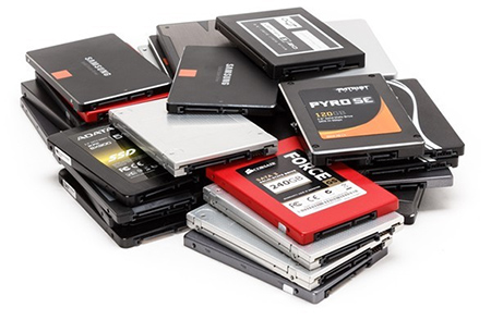 Lots of SSDs