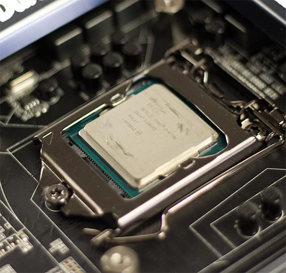 Damaged CPU lid