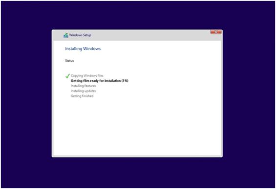 Microsoft Windows 10 Installer