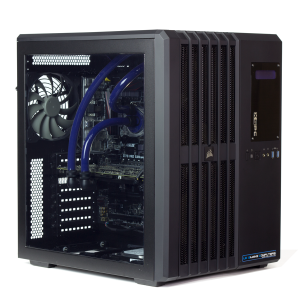 Refurbished Watercooled Gaming PC i5 6600K, GTX 690, 480GB SSD, 1TB HDD, CX650M, W10P