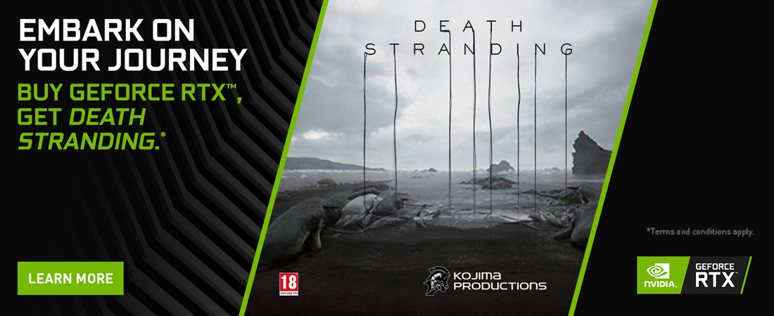 Nvidia RTX Death Stranding Bundle